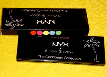 """I DREAM OF ST. LUCIA"" Тени для век от NYX (THE CARIBBEAN COLLECTION)"
